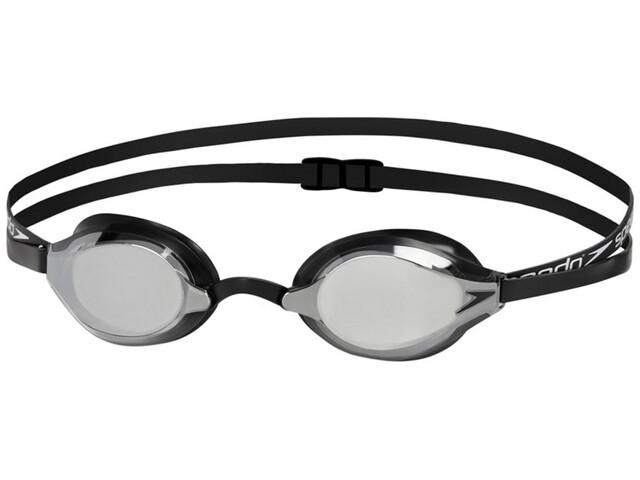 speedo Fastskin Speedsocket 2 Mirror Goggles, black/mirror